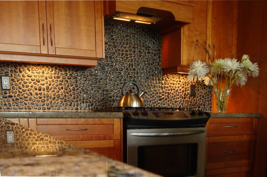 stone veneer kitchen backsplash. Mosaic Tile Backsplash \u2013 Best Stone Veneer For Kitchen B