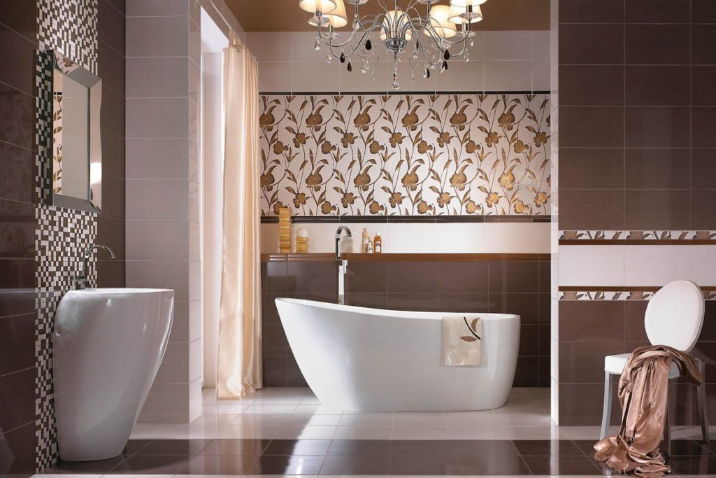 Decorating With Bathroom Tile Designs