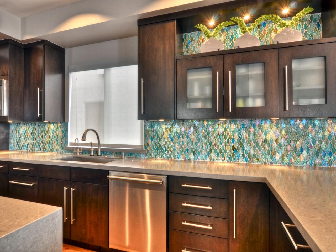 stone tile kitchen countertops. Mosaic Tile Backsplash \u2013 Best Stone Veneer For Kitchen Countertops