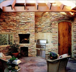 Stacked Stone Tile | The queen of do-it-yourself